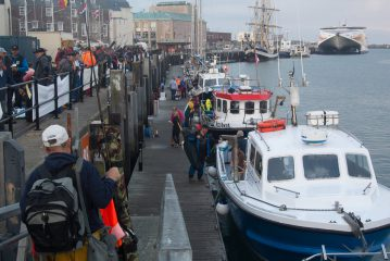 European Boat Championship Weymouth anglers assembly