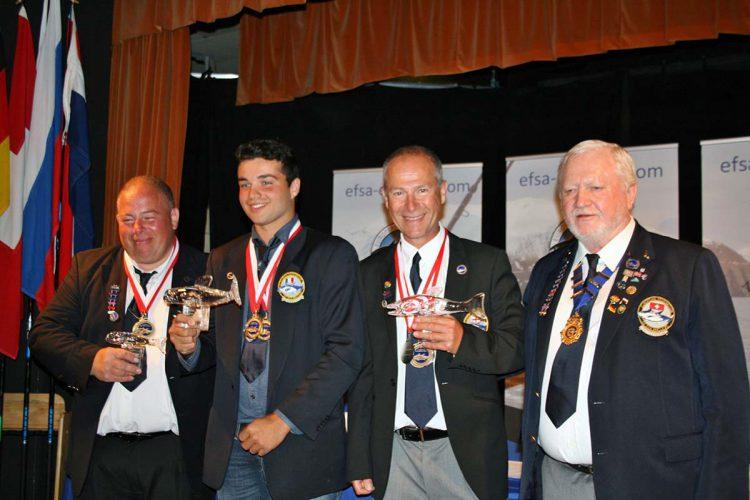 European Boat Championship Weymouth winners