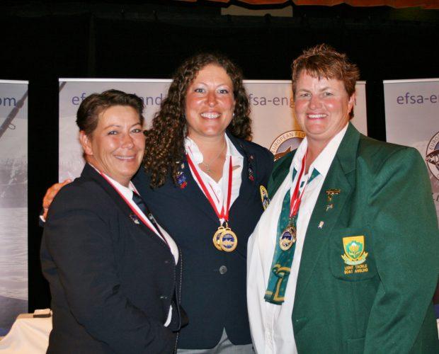 European Boat Championship Weymouth ladies winners