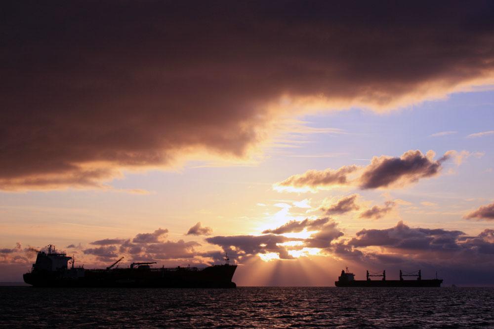 Weymouth plaice fishing Supernova sunrise