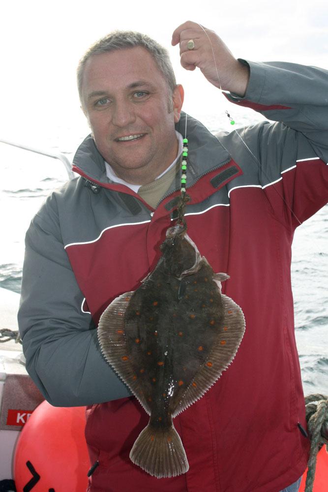 Weymouth plaice fishing Supernova plaice