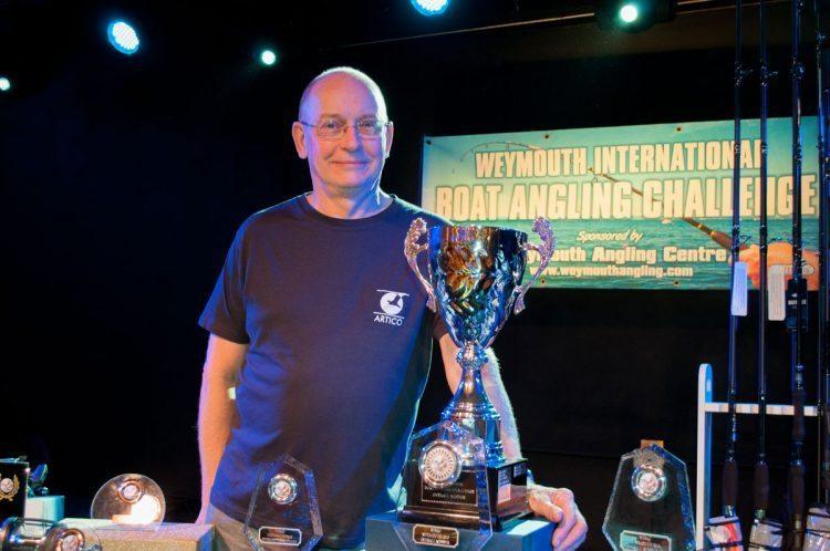 Weymouth International Boat Angling Challenge winner