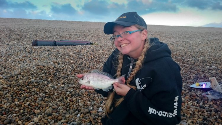a small black bream for Kimberley