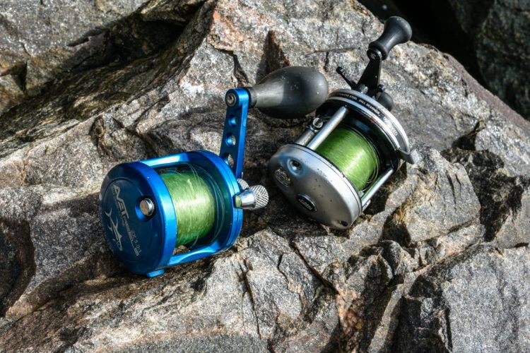 light tackle reels, an Avet and as ABU