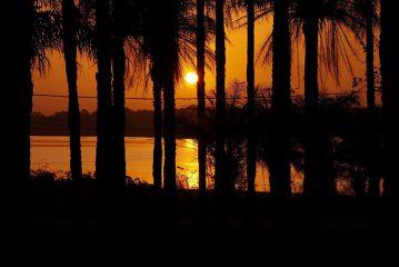 Guinea Bissau island sunset
