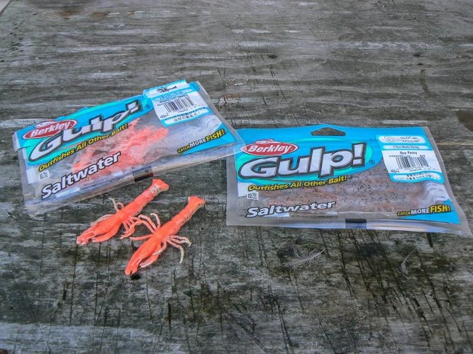 Gulp baits for flounder