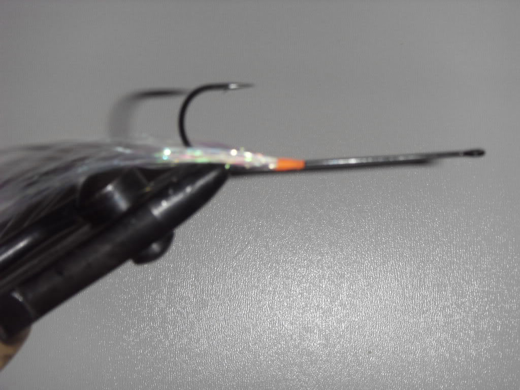 Step 2 - Tying a Bucktail Baitfish lure