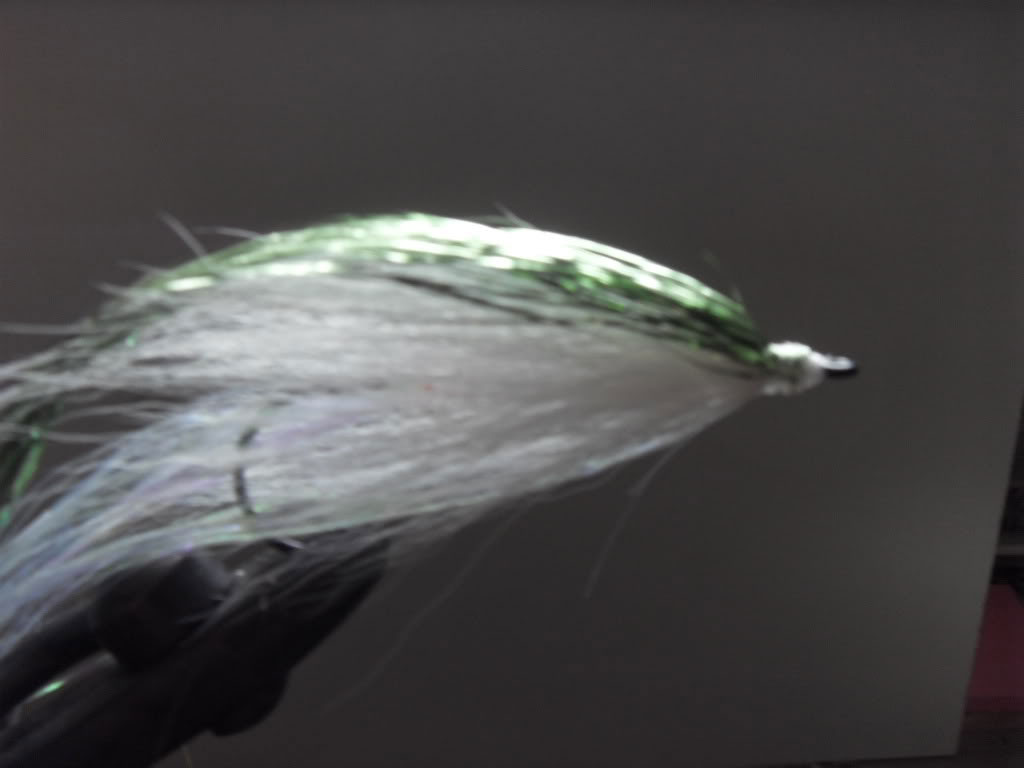 Step 6 - Tying a Bucktail Baitfish lure