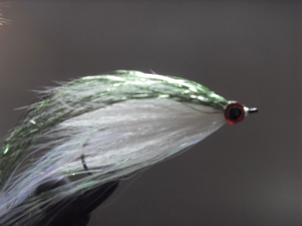 Step 7 - Tying a Bucktail Baitfish lure