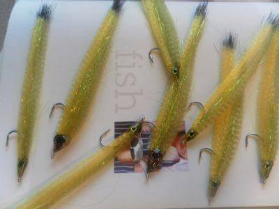 Step 12 - Saltwater flies: Sandeel