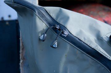 Greys GRXi Wet Gear Bag zip