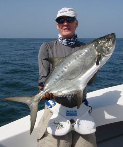 boat fishing Guinea-Bissau leerfish