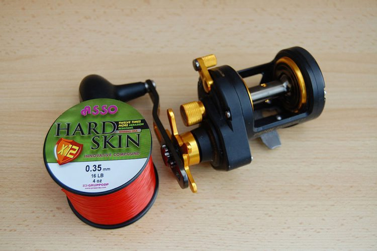 Asso Hard Skin X12 Fishing Line spooling