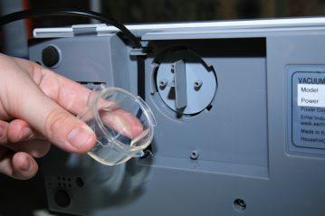 Eiffel Freshpack Pro Vacuum Sealer drip tray