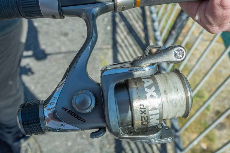 Fladen Maxximus DX2000R Spinning Reel spool