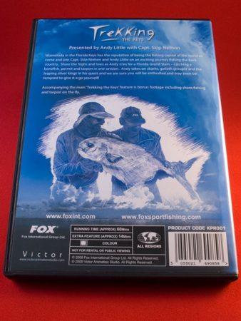 FOX 'Trekking the Keys' DVD back cover