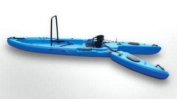 Freedom Hawk Kayaks blue open