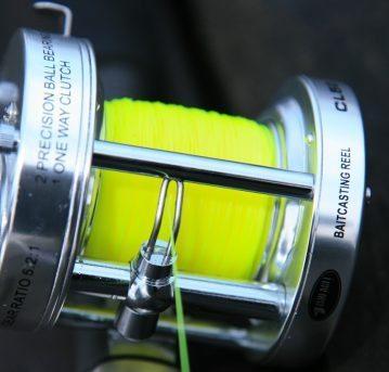 Fisheagle CL50 multiplier reel level wind