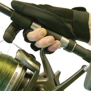Gardner Casting Glove on reel