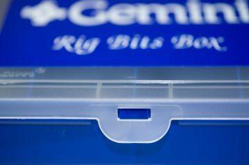 Gemini Rig Bits Box Kit lid catch