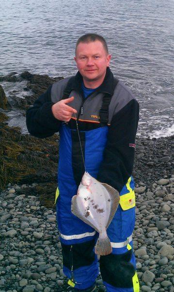 Iridium Firesurf 420 Beach Rod Iceland plaice
