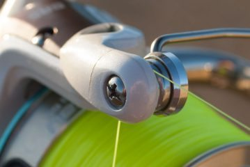 Iridium Stingray Fixed Spool Reel bail roller