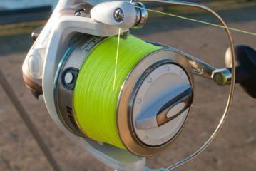 Iridium Stingray Fixed Spool Reel line lay