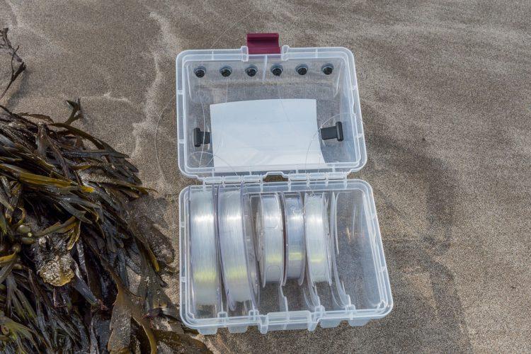 Plano Line Box showing line spools