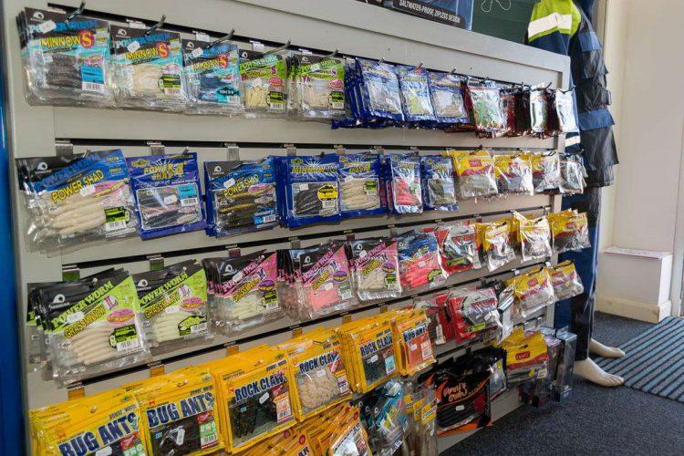 Seaview Angling Shop soft plastics