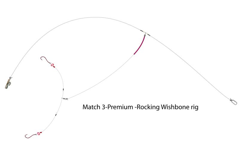 UK Hooks Shore Rigs rocking wishbone