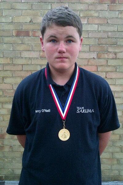 Junior Home International Shore Championship harry o'neil