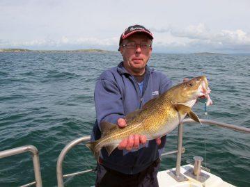 boat fishing kilmore reef cod