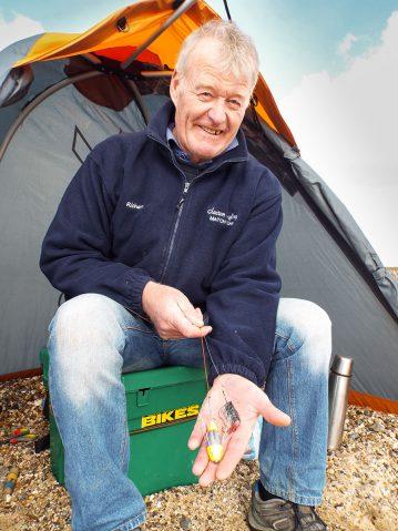 fishing St Osyth beach baited pulley rig