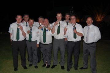 the victorius Irish squad at Langabaan