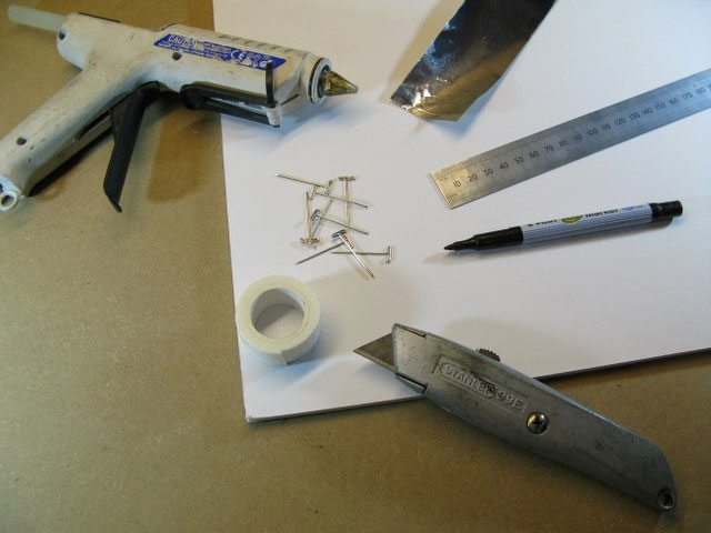 How to make a one sided silicone mould materials