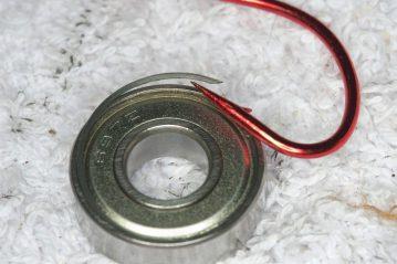 Shimano Tyrnos 10 Strip Down Maintenance opening bearing