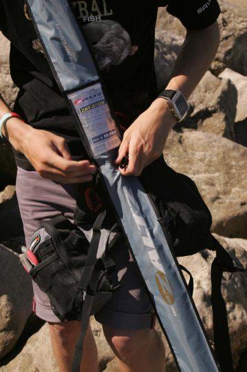 Savage Gear Roadrunner Gear Bag rod carrier