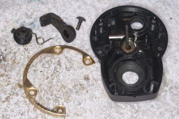 Daiwa Sealine X 30SHV sideplate removed