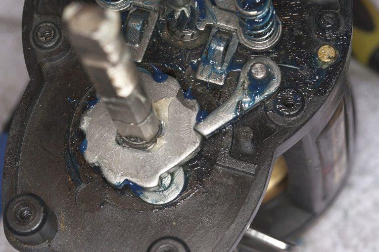 Daiwa Sealine X 30SHV anti-reverse cog