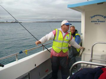 wibac boat fishing weymouth scoring fish