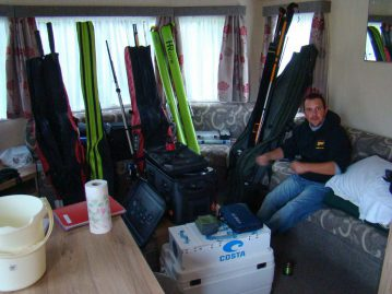 wibac boat fishing weymouth David prepares