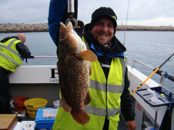 wibac boat fishing weymouth ballan wrasse