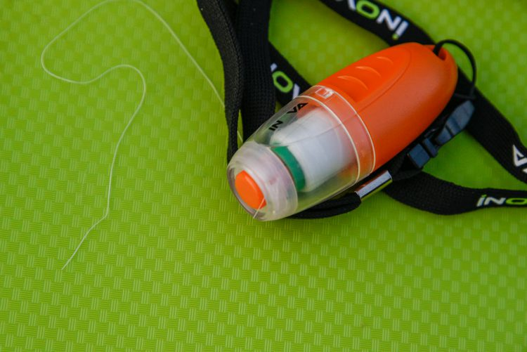 The Inova Bait Binder ready for use