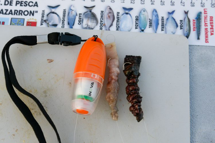 Neat baits produced using the Bait Binder