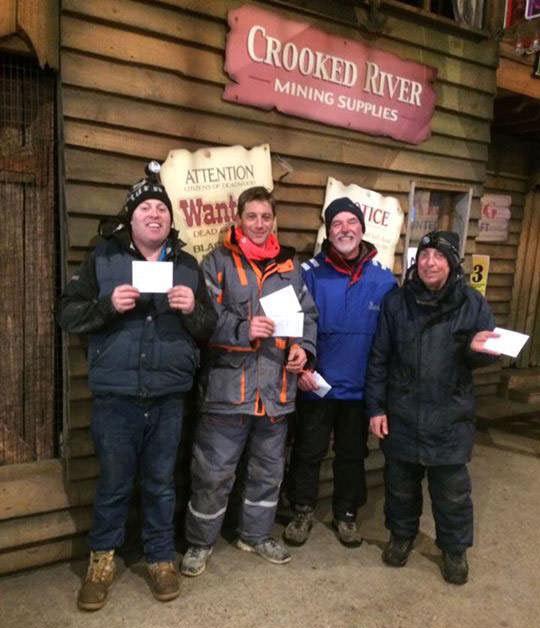 Walton Sea Angling Club winners