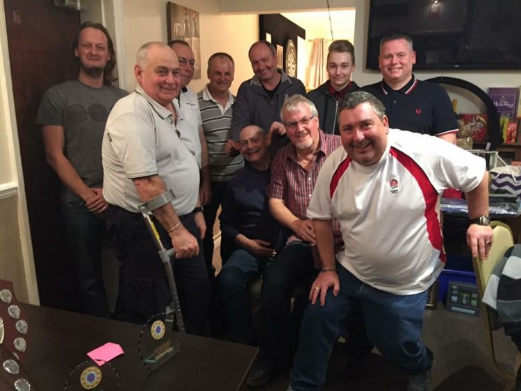 Colchester Sea Angling Club prize winners