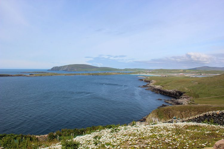 typical Shetland Isles voe