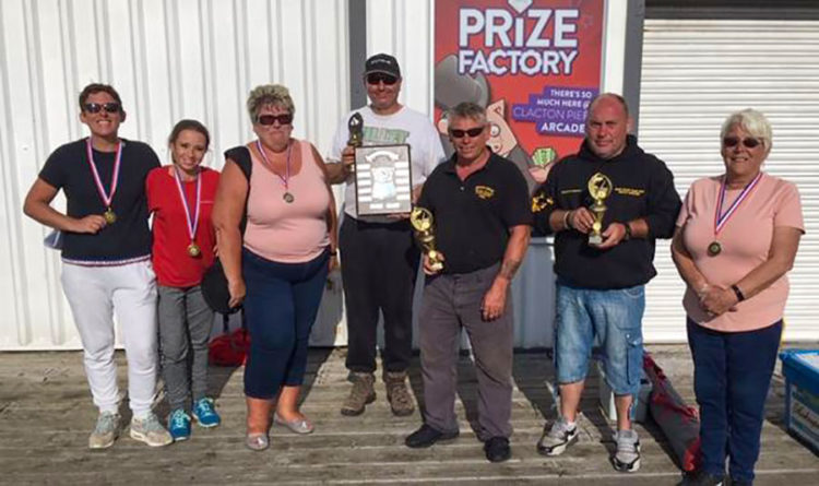 The winners of the annual Clacton Pier Charity Match