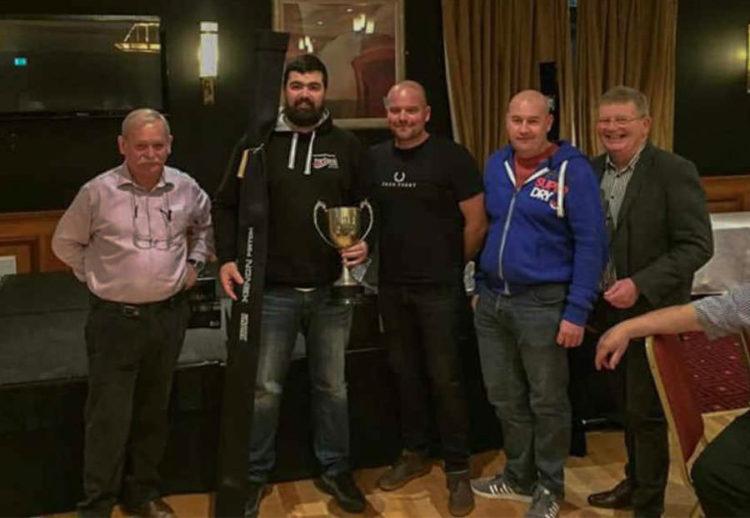L-R: Warren Doyle, Paul Whelan, Gareth Griffiths, Ged Stevens, George McCullough