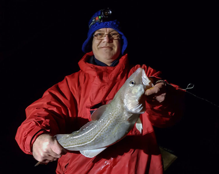 Colin Price landed this cod of just over 4lb